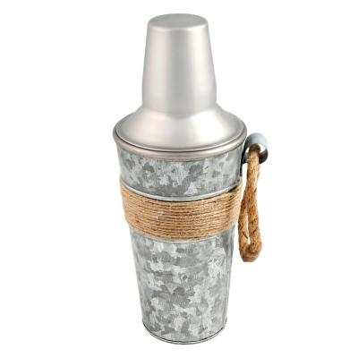 Shiloh Galvanized and Rope 24 fl. oz. Shaker