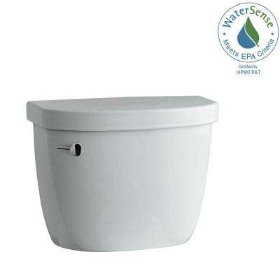 Cimarron 1.28 GPF Single Flush Toilet Tank Only in Ice Grey