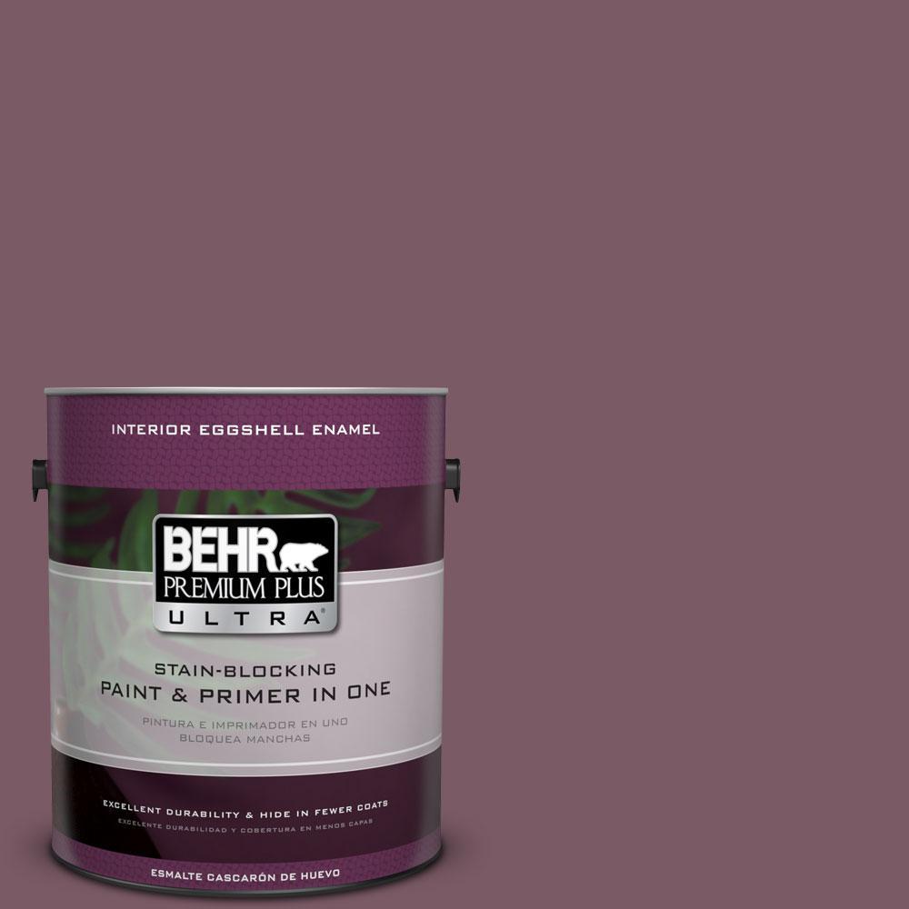 BEHR Premium Plus Ultra 1-gal. #ICC-84 Simply Elegant Eggshell Enamel Interior Paint