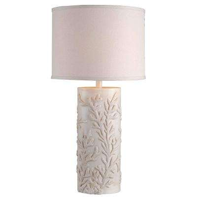 Reef 30 in. Antique White Table Lamp