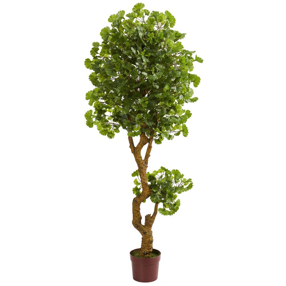 6 in. UV Resistant Indoor/Outdoor Jingo Artificial Tree