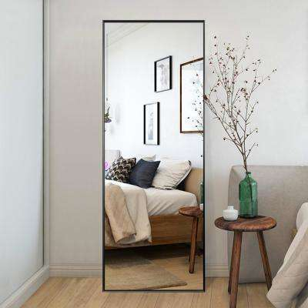 Elegant/Modern Large Full-length Floor Mirror Standing Leaning or Hanging In Living Room