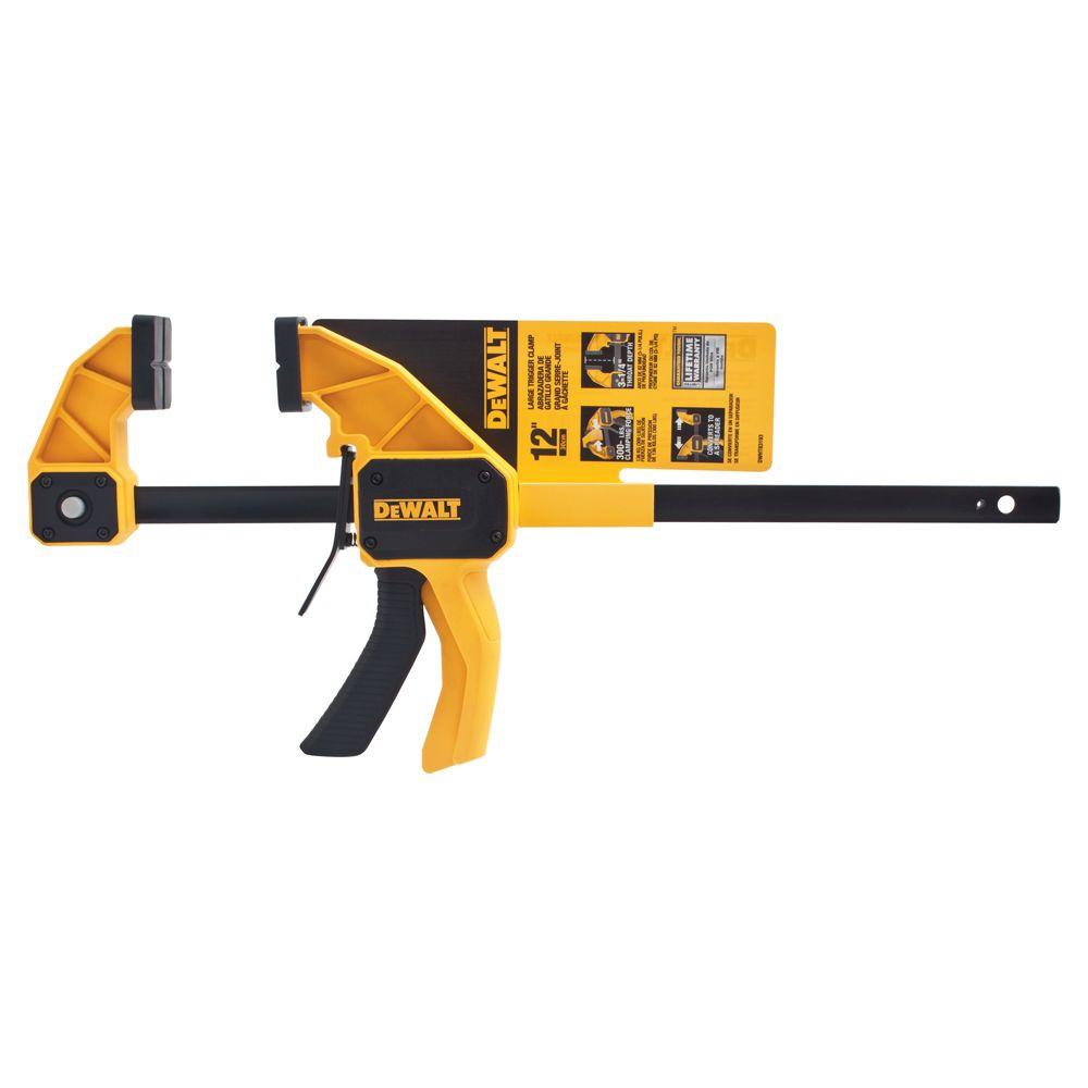 DEWALT 12 in. Large Trigger Clamp
