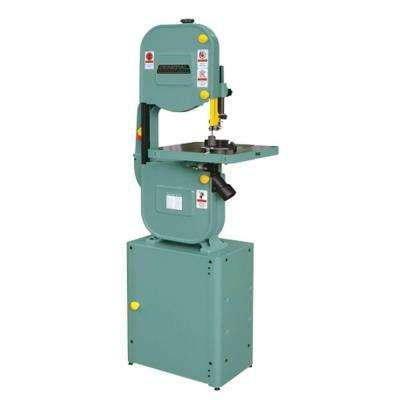 110-Volt 14 in. Wood Cutting Band Saw with Closed Stand