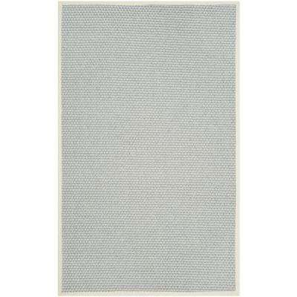 Natural Fiber Silver/Gray 8 ft. x 10 ft. Area Rug