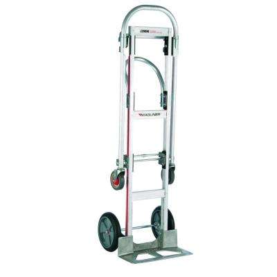 1,000 lb. Capacity Gemini Sr. Convertible Aluminum Modular Hand Truck with Balloon Cushion Wheels