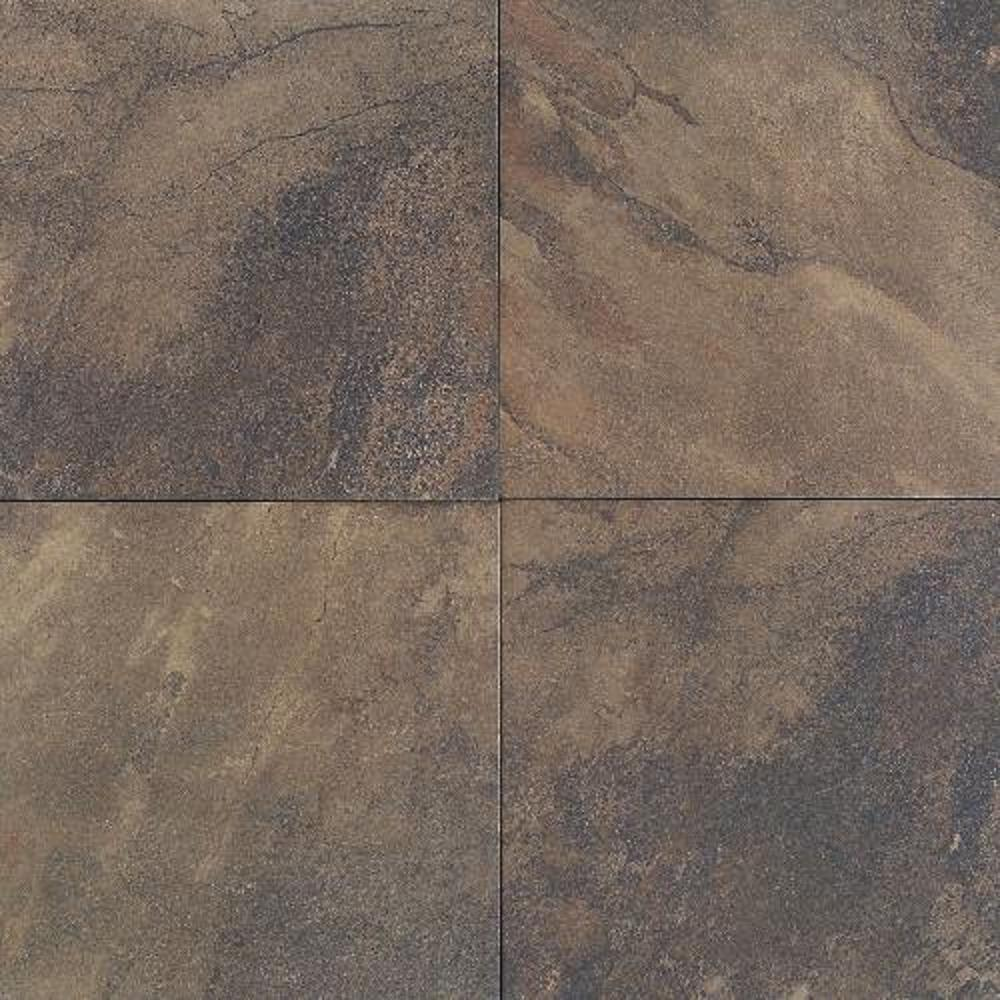 Daltile Aspen Lodge Midnight Blaze 18 in. x 18 in. Porcelain Floor and Wall Tile (15.28 sq. ft. / case) - DISCONTINUED