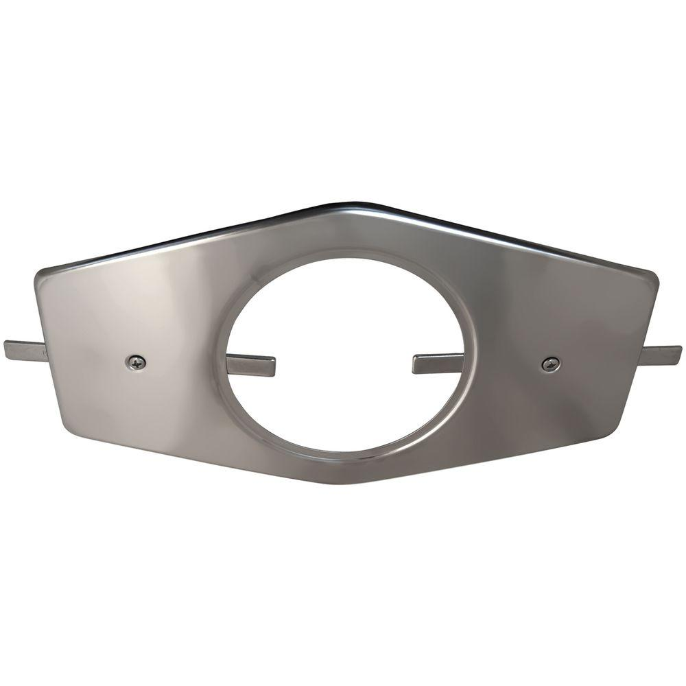 Lincoln Single-Handle Stainless Steel Repair Plate with M...