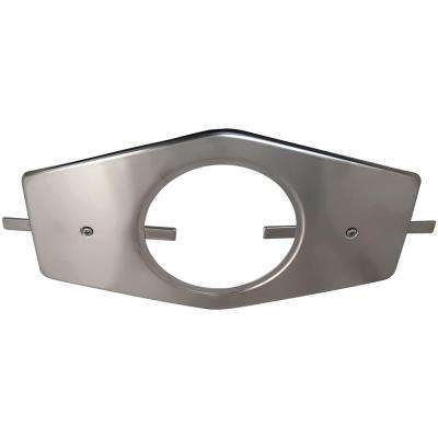 Single-Handle Stainless Steel Repair Plate with Mounting Hardware