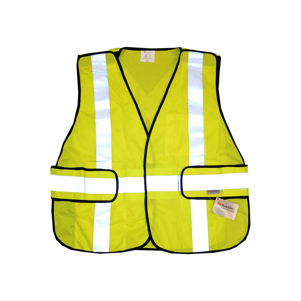 West Chester Protective Gear One Size Fits All Hi-Vis Green Breakaway Construction Safety Vest