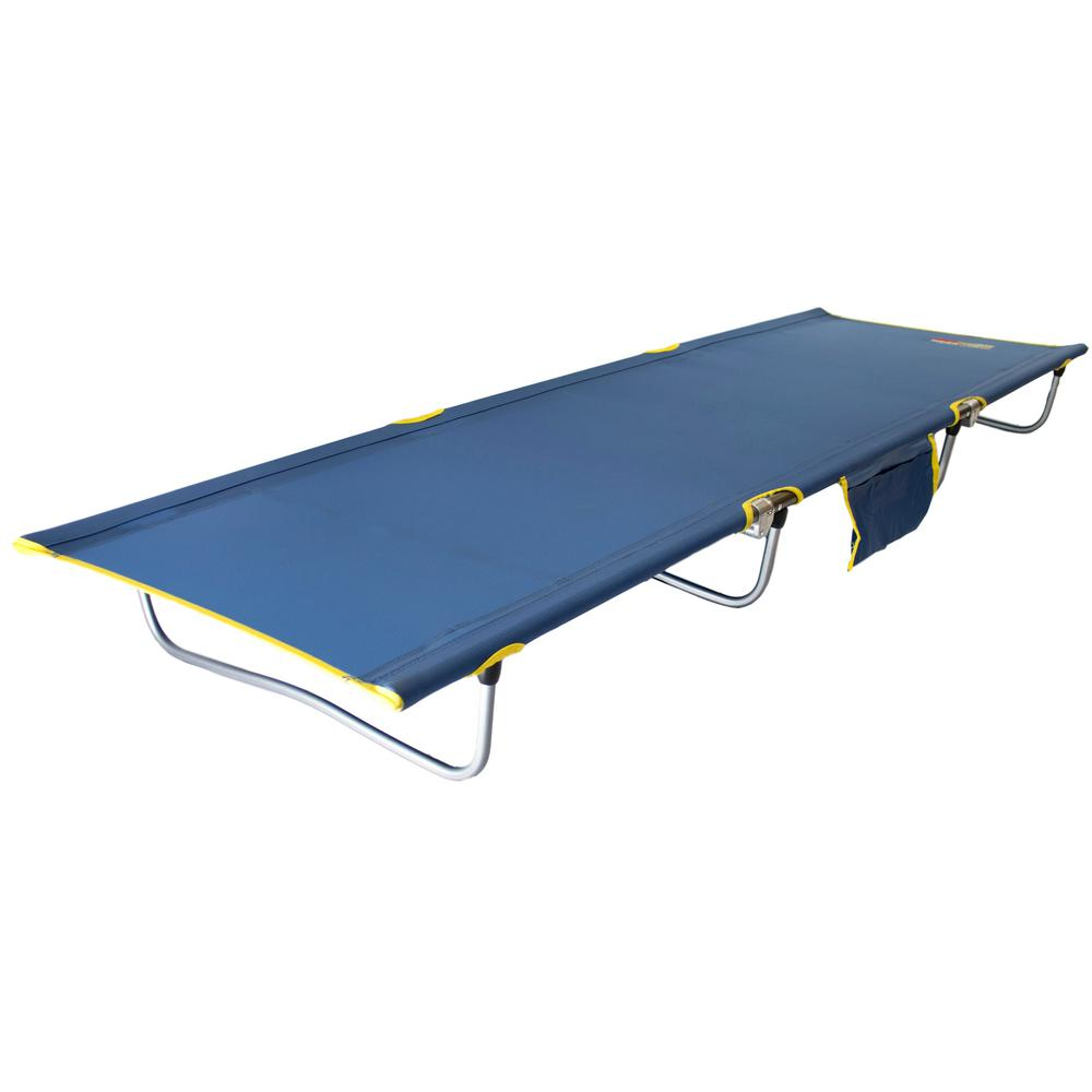 Byer of Maine Tri Lite 7000 Series 74 in. x 25 in. Aluminum Frame Lightweight Nylon Cover Cot