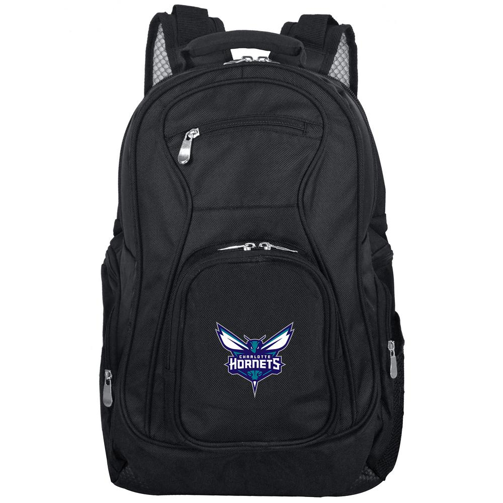 NBA Charlotte Hornets Black Backpack Laptop
