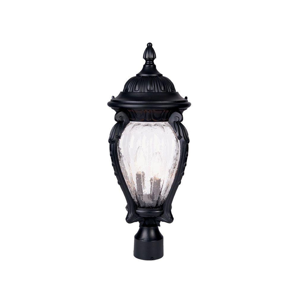 Light Shop In Nottingham: Acclaim Lighting Nottingham 3-Light Matte Black Outdoor