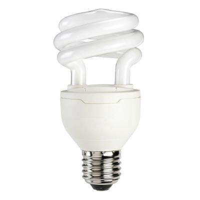 75W Equivalent Soft White (2700K) A19 Spiral Dimmable CFL Light Bulb