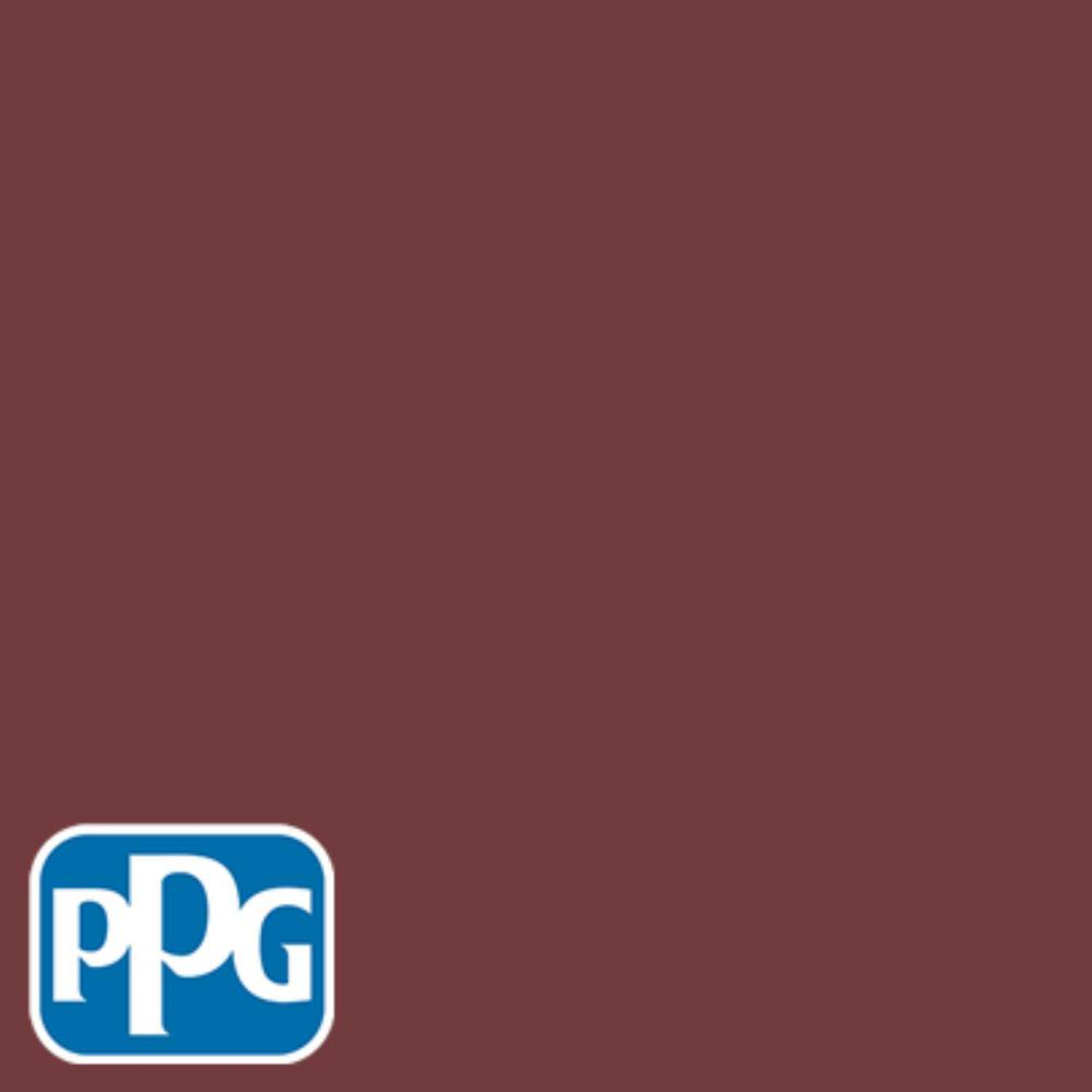 PPG TIMELESS 8 oz  #HDPPGR52 Classic Burgundy Flat Interior/Exterior Paint  Sample