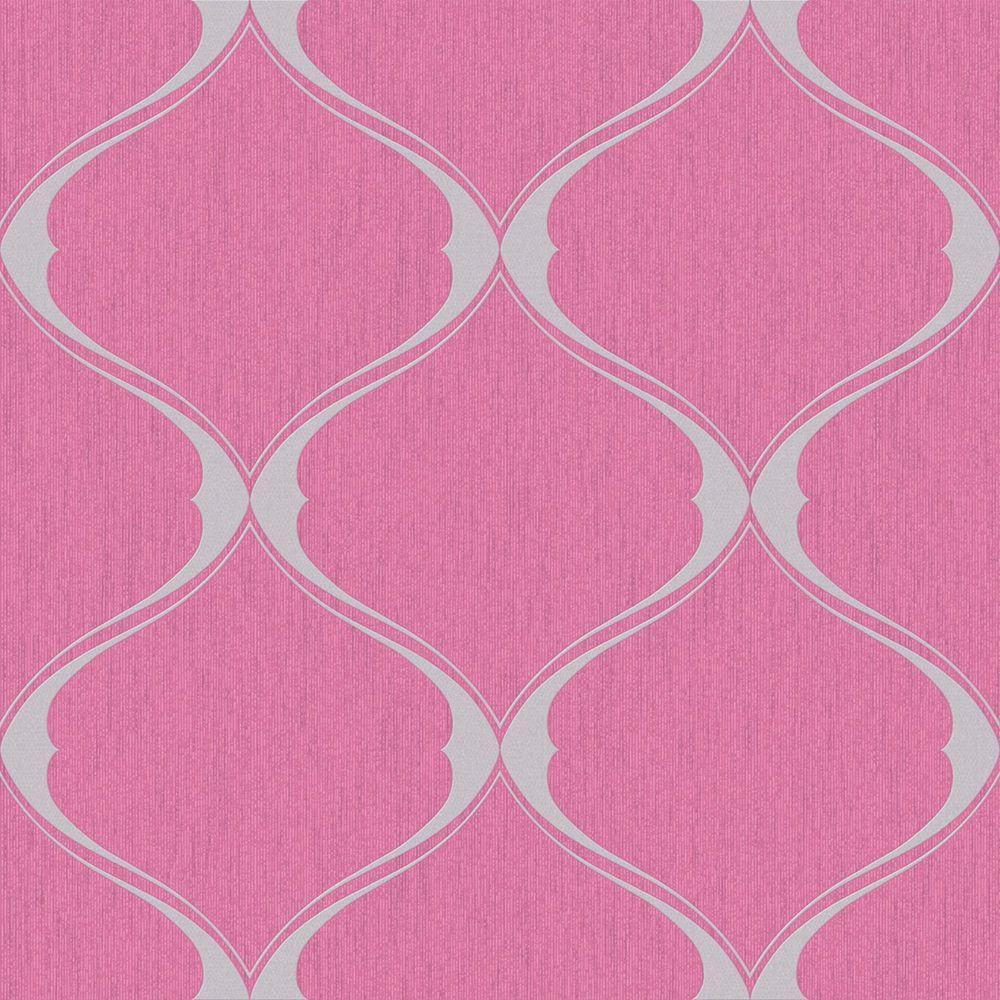 Graham Brown Pink Olympus Wallpaper