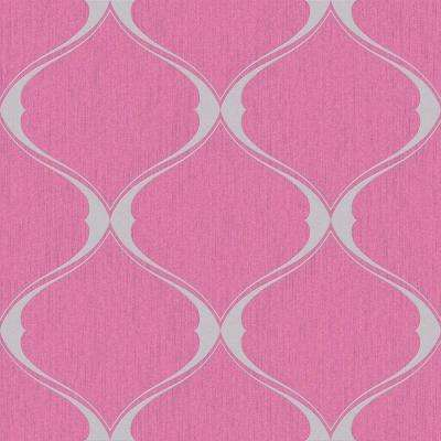 glam pink moisture resistant wallpaper home decor the home