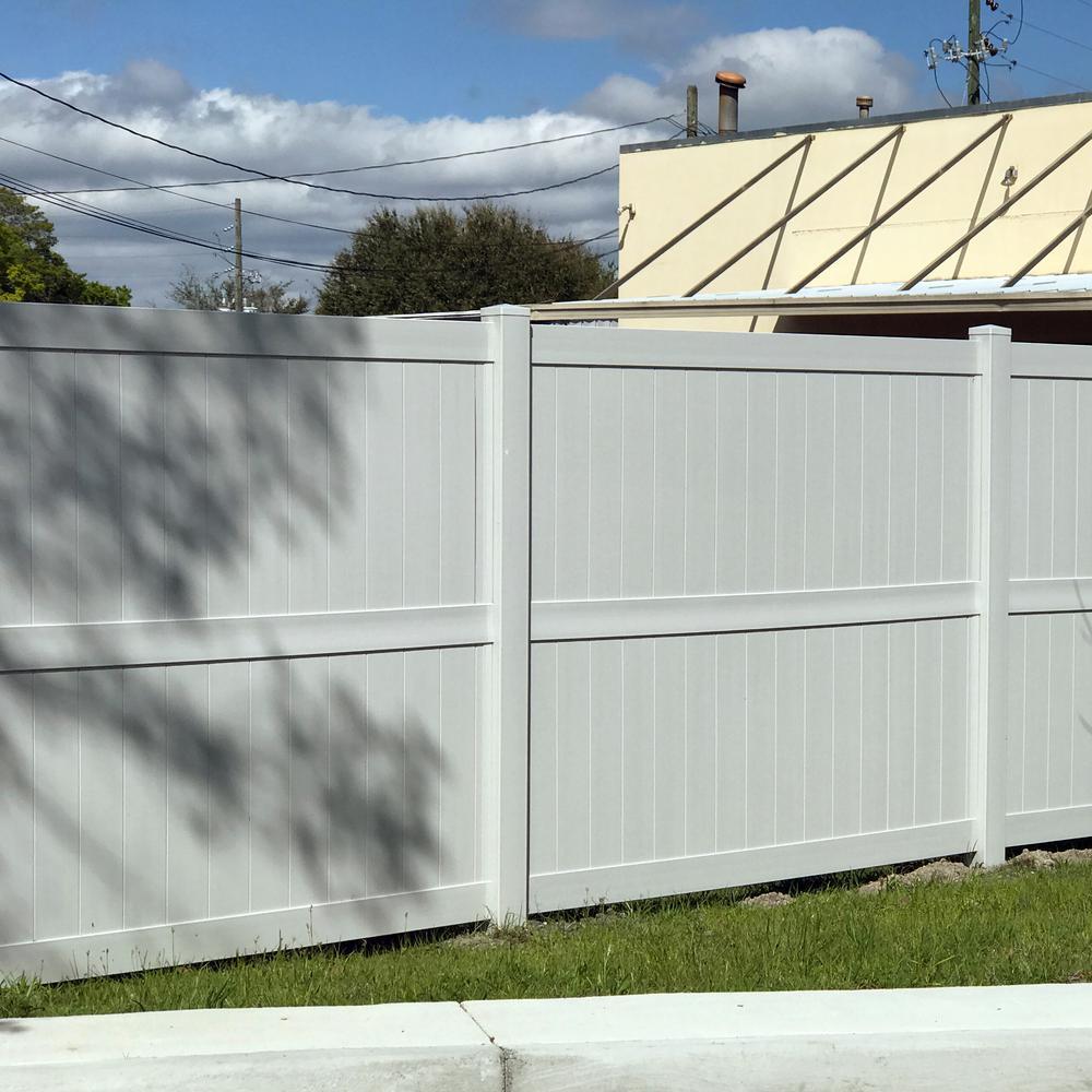 China 5x8 Semi Privacy Vinyl Fence Panels Yardworks China Vinyl Panels Fencing Vinyl Panels Fence