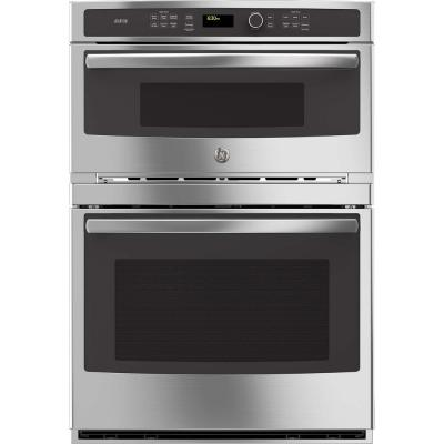 Profile 30 in. Electric Convection Wall Oven with Built-In Advantium Microwave in Stainless Steel