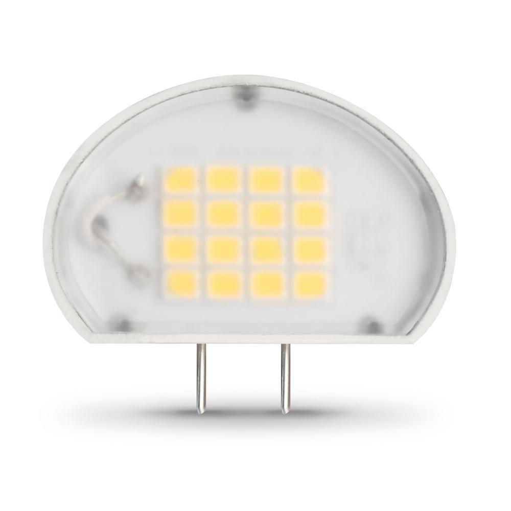 Feit Electric 50-Watt Equivalent Bright White (3000K) Puck G8 Bi-Pin Base LED Light Bulb