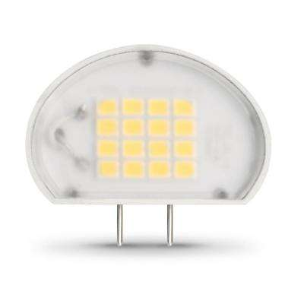 50-Watt Equivalent Bright White (3000K) Puck G8 Bi-Pin Base LED Light Bulb