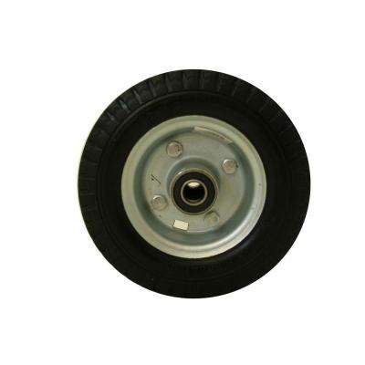 6 in. Flat Free Replacement Wheel