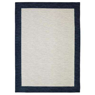 Brutti Navy 8 ft. x 10 ft. Area Rug