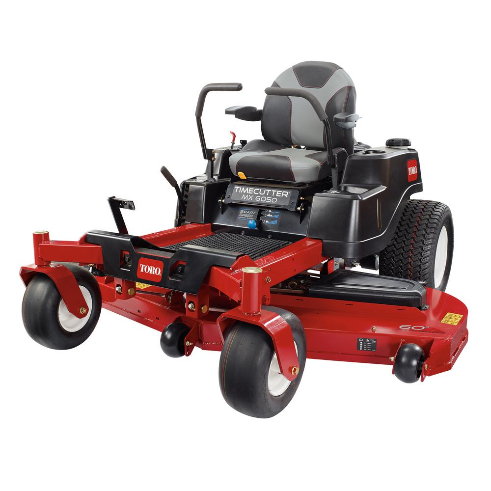 60 in. Fab 24.5 HP V-Twin Gas Zero-Turn Riding Mower with Smart Speed