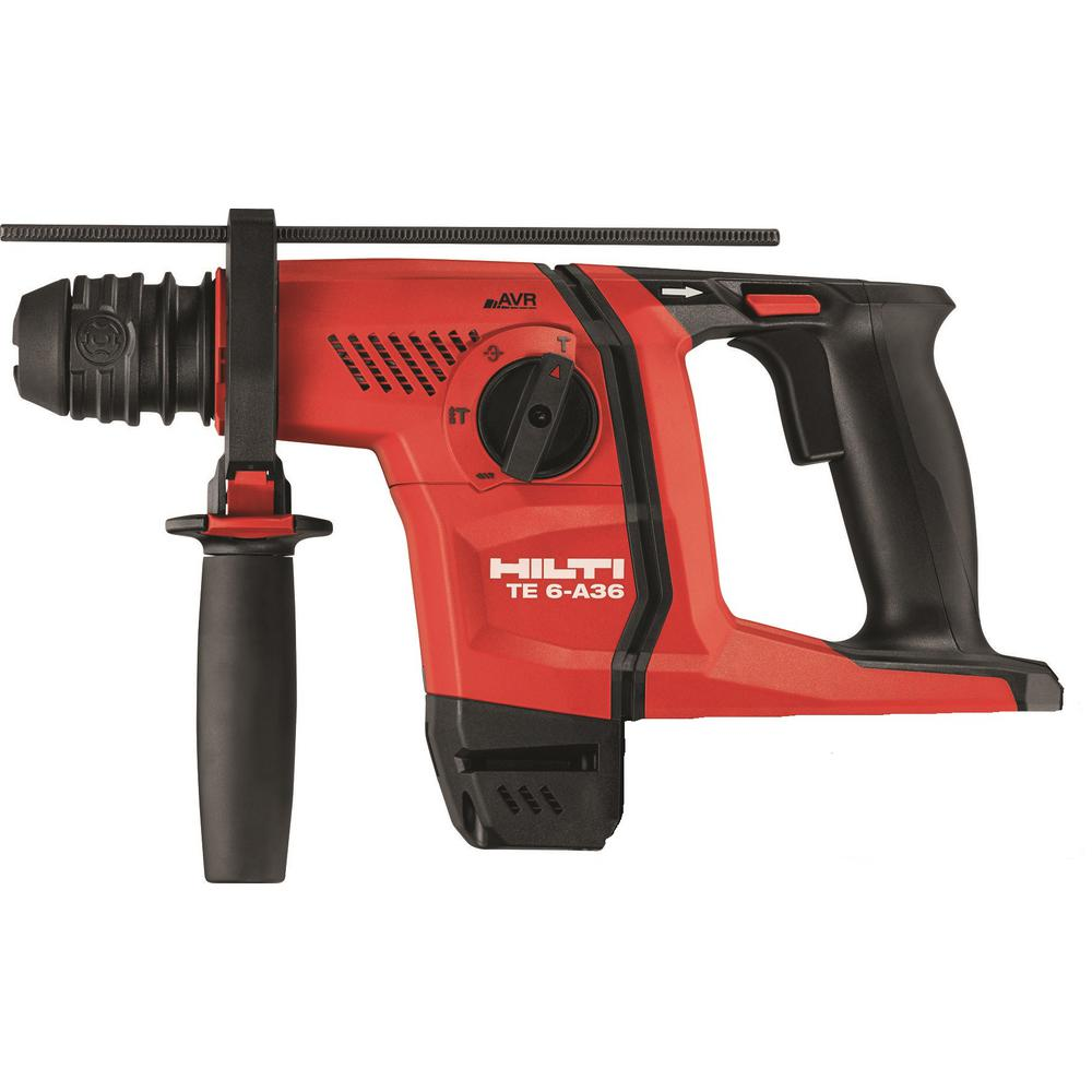 hilti 36 volt lithium ion 1 2 in sds plus cordless rotary. Black Bedroom Furniture Sets. Home Design Ideas
