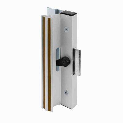 Surface Mounted Sliding Glass Door Handle with Clamp Type Latch, Aluminum