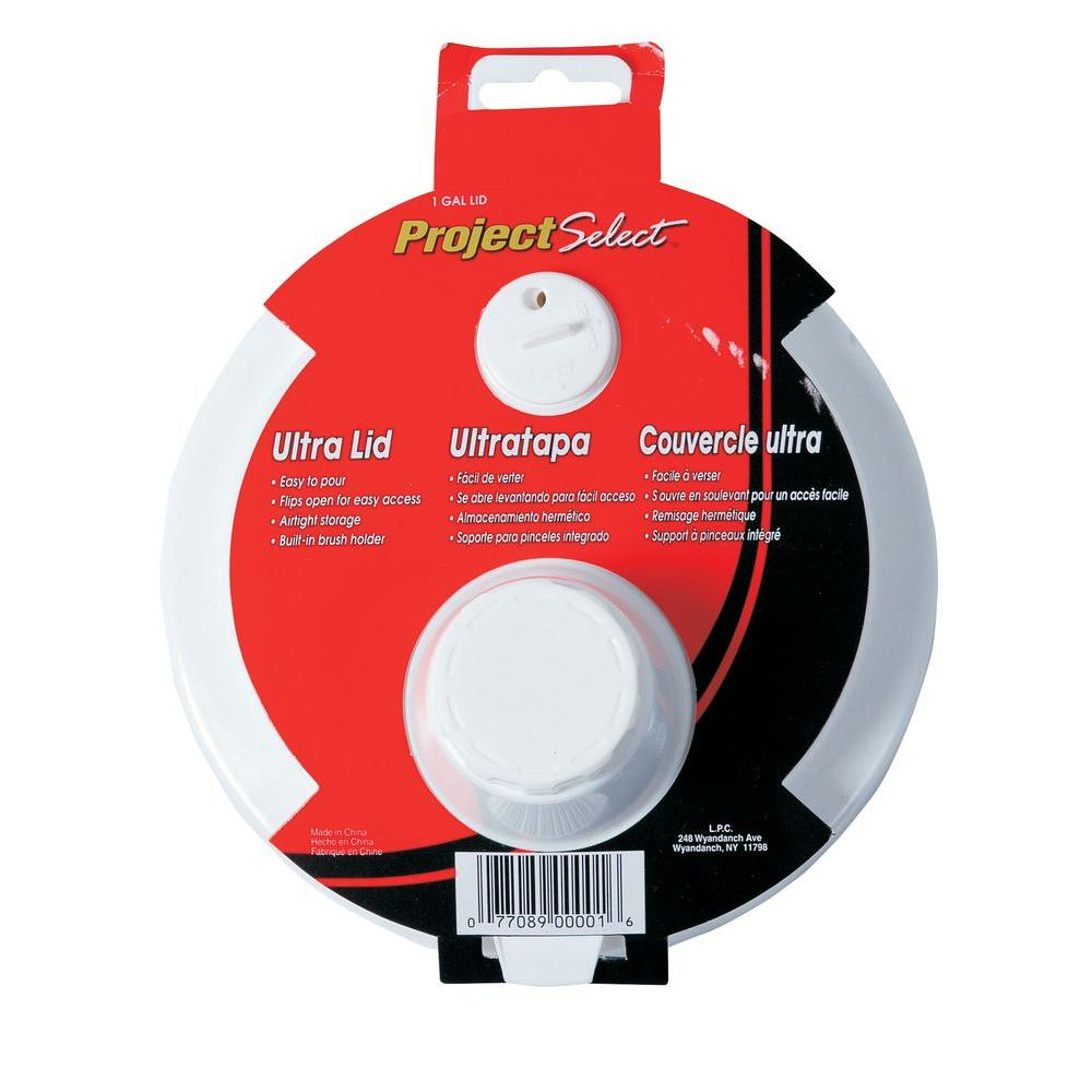 b0b96716a99 Project Select Plastic Lid for 1 Gal. Paint Can-1 Gal LID - The Home ...