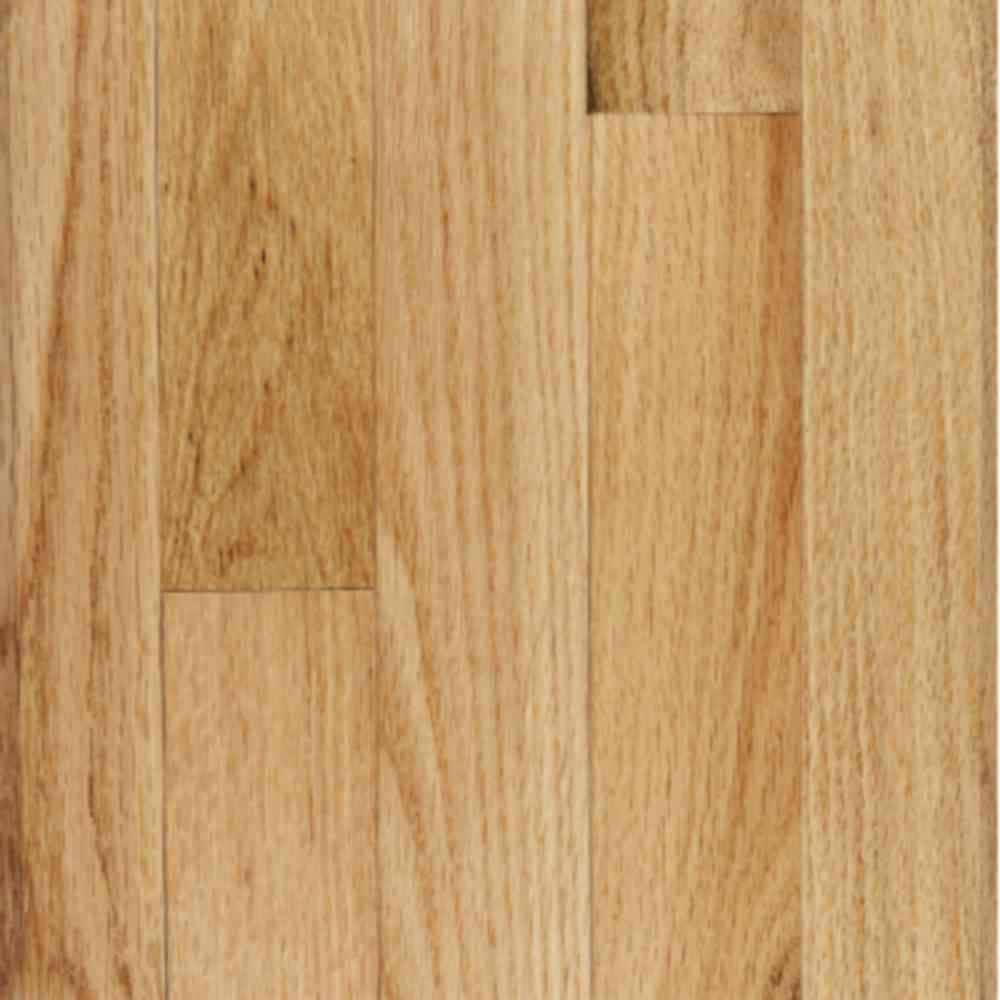 Millstead Red Oak Natural Solid Hardwood Flooring - 5 in. x 7 in. Take Home Sample
