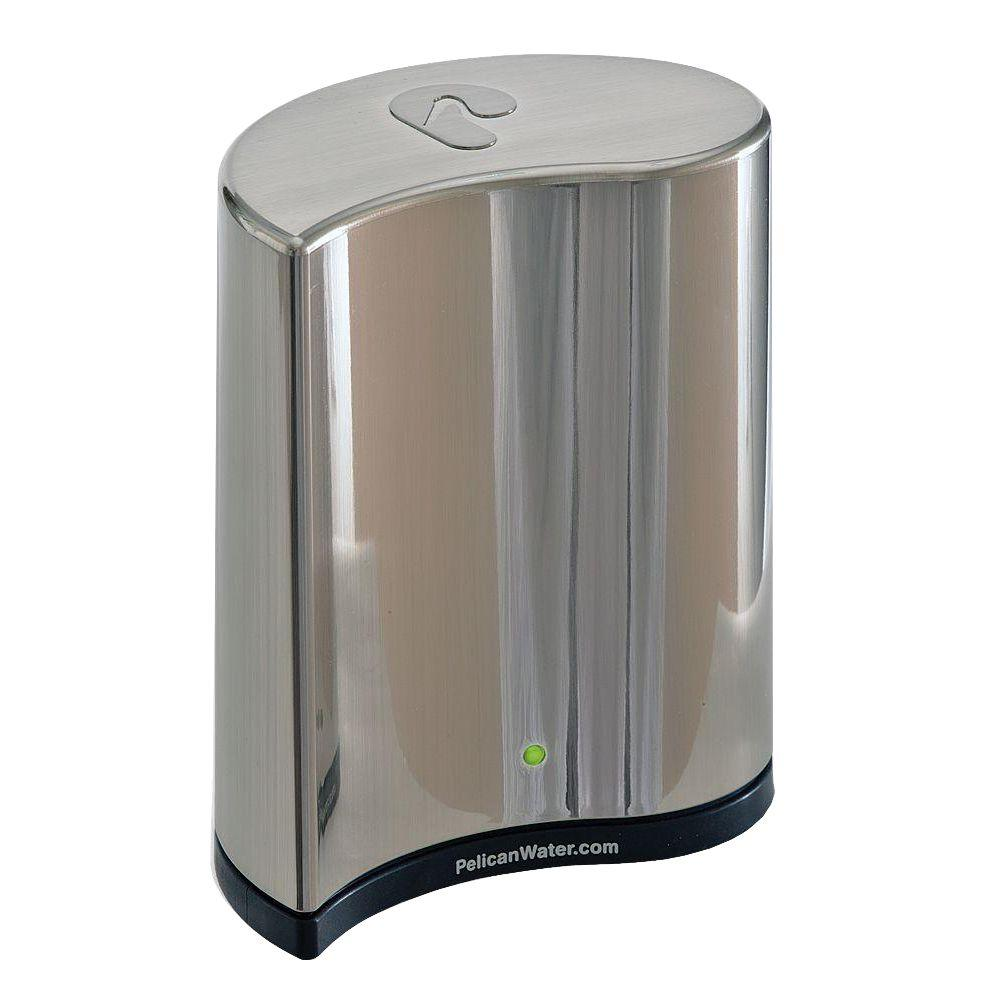 Pelican Water Premium Countertop Drinking Water Filtration and Purification System with Chrome Dispenser