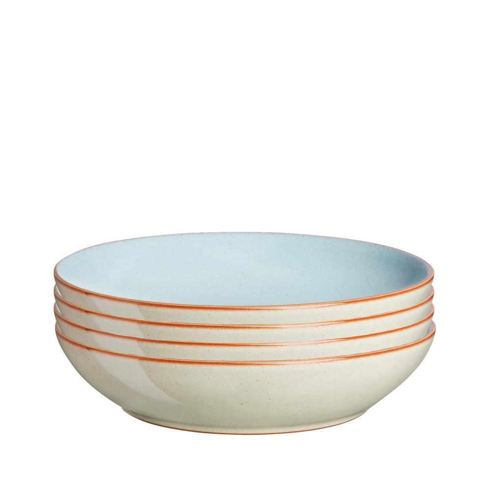 Denby Heritage Pavilion Pasta Bowls (Set of 4)-PAV-052/4 - The Home ...