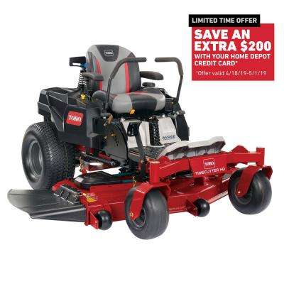 TimeCutter HD with MyRIDE 60 in. Fab 24.5 HP V-Twin Gas Zero-Turn Riding Mower with Smart Speed
