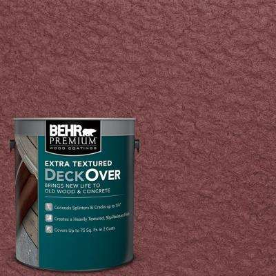 1 gal. #PFC-04 Tile Red Extra Textured Wood and Concrete Coating