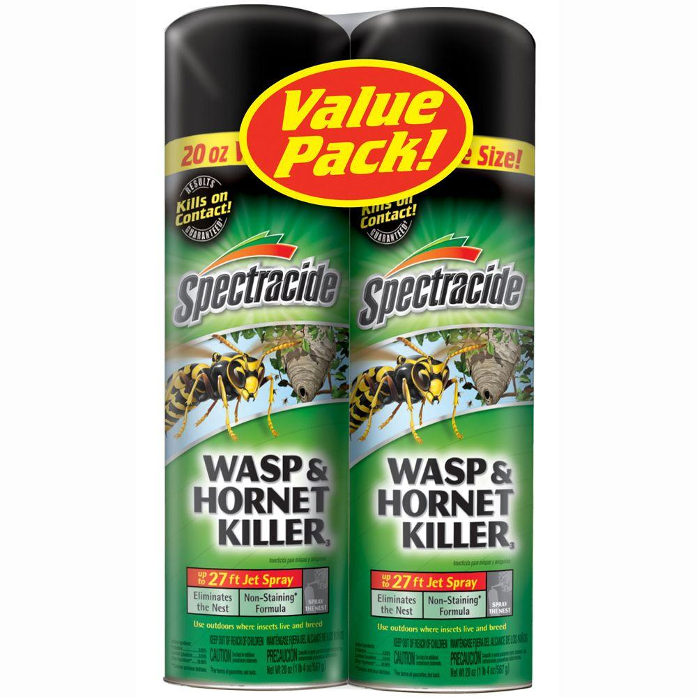 Spectracide Aerosol Wasp And Hornet Spray Twin Pack