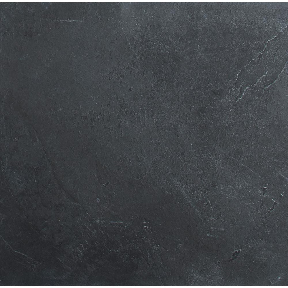 Black Slate Kitchen Tiles: MS International Hampshire 16 In. X 16 In. Gauged Slate