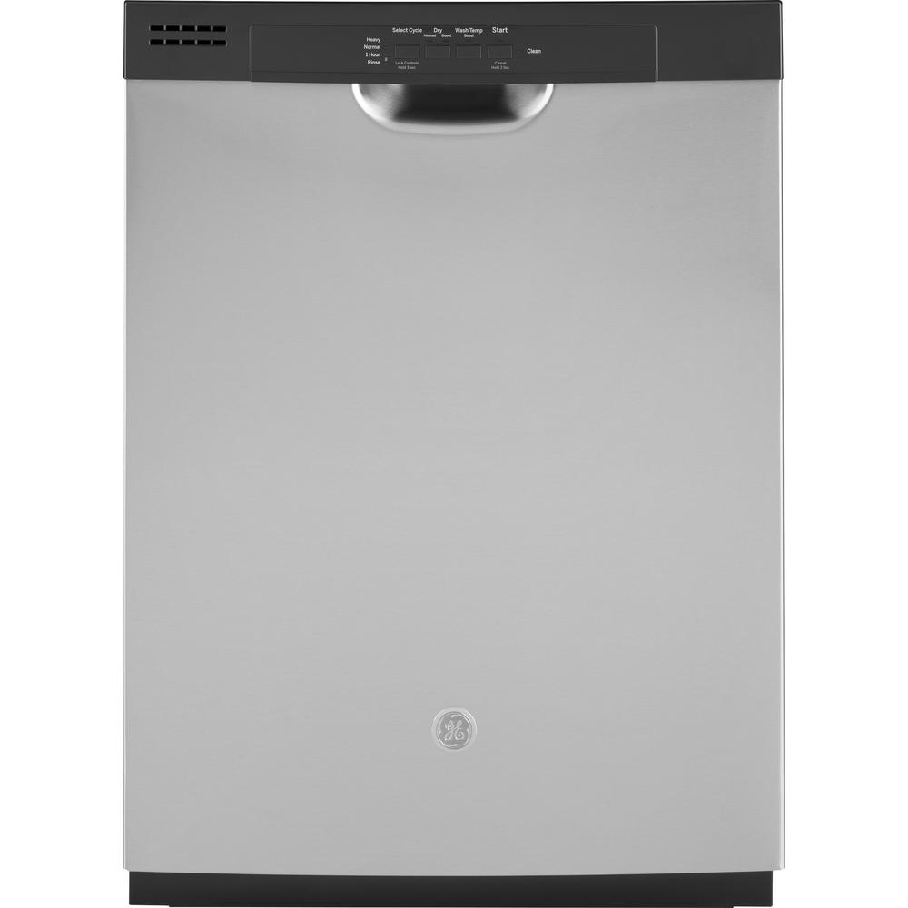Ge 24 In Front Control Built In Tall Tub Dishwasher In