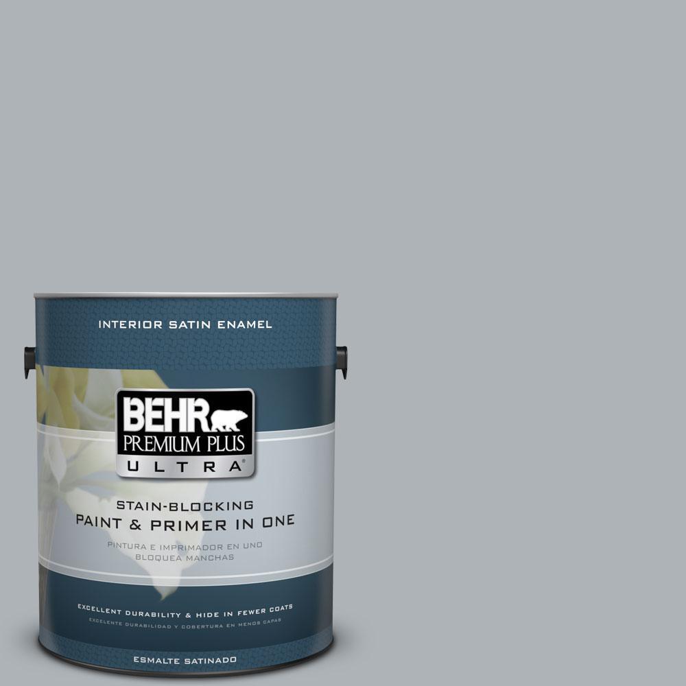BEHR Premium Plus Ultra 1-gal. #N510-3 Stargazer Satin Enamel Interior Paint