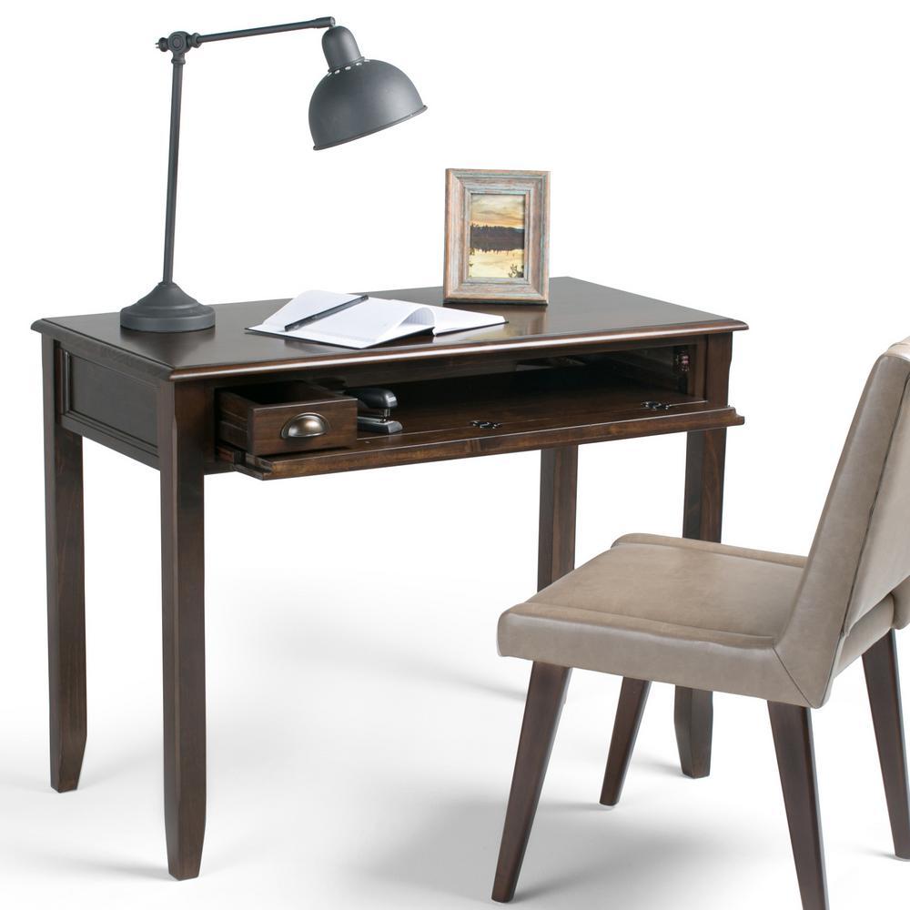 Simpli Home Burlington Solid Wood Traditional 42 in. Wide ...
