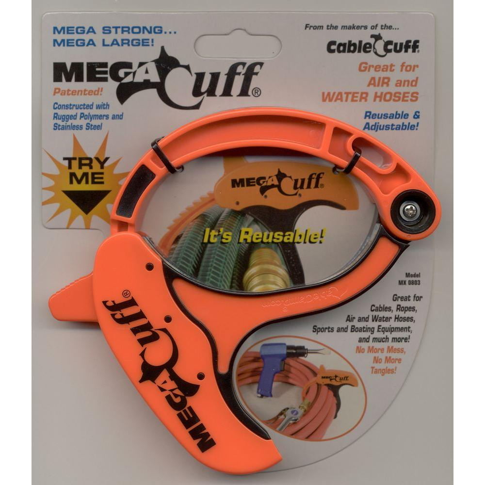 """Reusable Cable Cuff PRO  Large 3""""  Cable Clamp  Adjustable 4 Pack New"""
