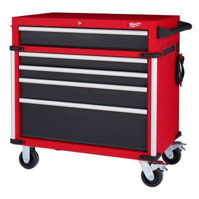 High Capacity 36 in. 5-Drawer Roller Cabinet Tool Chest