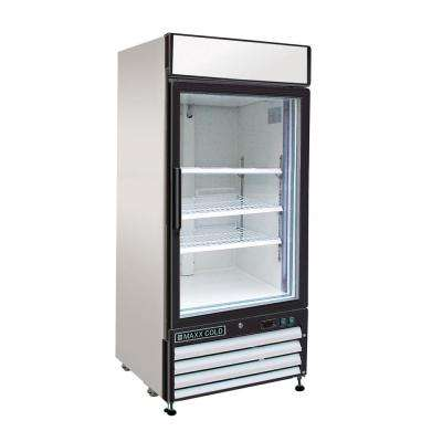 X-Series 16 cu. ft. Single Door Commercial Upright Merchandiser Freezer