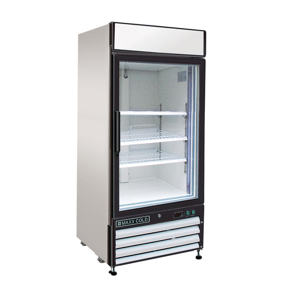 X-Series 16 cu. ft. Single Door Merchandiser Freezer