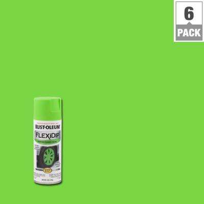 11 oz. Grabber Green Spray Paint (6-Pack)