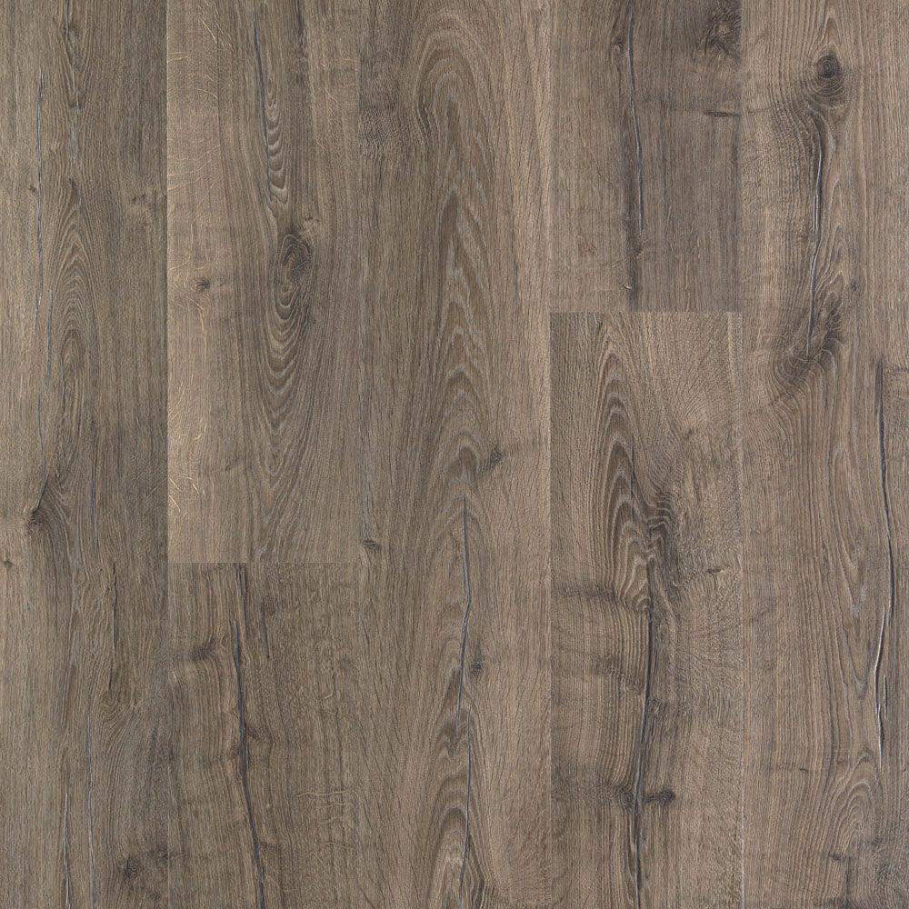 Pergo Outlast+ Vintage Pewter Oak 10 mm Thick x 7-1/2 in. Wide x 47 ...