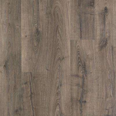 Laminate wood flooring laminate flooring the home depot outlast vintage pewter oak 10 mm thick x 7 12 in wide solutioingenieria Image collections