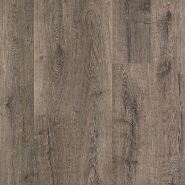 Outlast+ Waterproof Vintage Pewter Oak 10 mm T x 7.48 in. W x 47.24 in. L Laminate Flooring (19.63 sq. ft. / case)