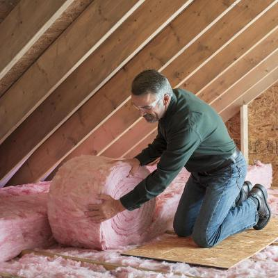 R-30 EcoTouch PINK Unfaced Fiberglass Insulation Roll 23 in. x 25 ft. (12-Rolls)
